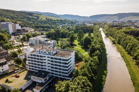 Dorint Parkhotel Bad Neuenahrt Luftansicht Ahrtal