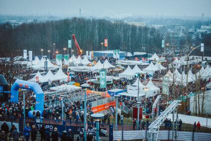 Veranstaltungsgelände des Biathlon auf Schalke