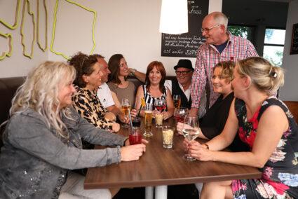 Gemütliches Zusammensitzen in Bielefeld