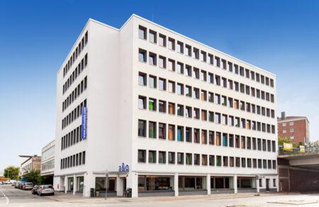 Außenansicht vom A&O Hotel Bremen