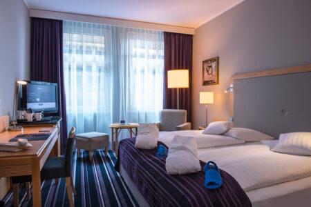 Zimmer im Radisson Blu Hotel Köln