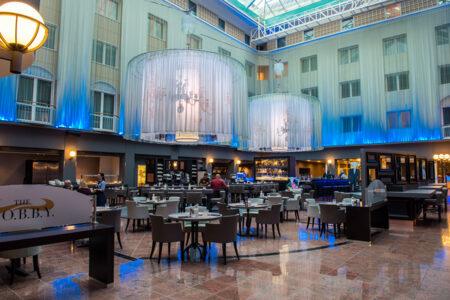 Lobby im Radisson Blu Hotel Bremen