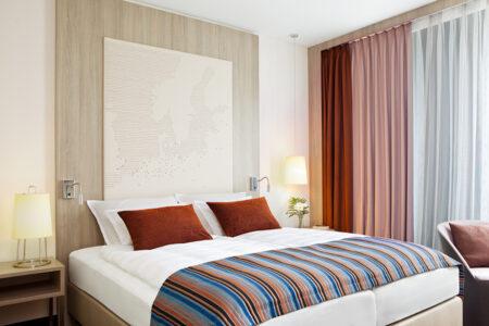 Zimmer im Steigenberger Hotel in Bremen