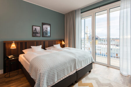Zimmer im The Liberty Hotel in Bremerhaven