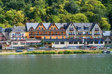Außenansicht vom Hotel Anker in Brodenbach