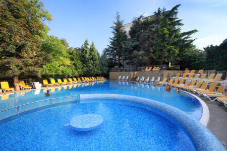 Pool im Hotel Excelsior in Bulgarien