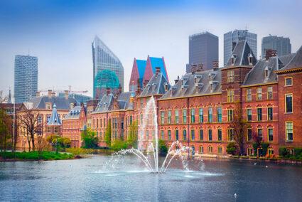 Binnenhof-Gebäude in Den Haag