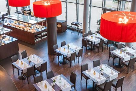 Restaurant im NH Hotel Düsseldorf City