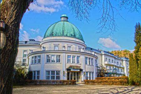 Außenansicht Maritim Hotel Bad Wildungen im Edertal