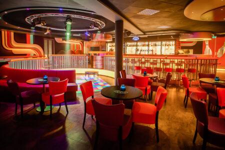 Lucky Strike Bowling-Bar im Hotel Zuiderduin in Egmond aan Zee