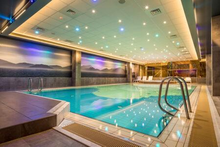 Schwimmbad im Hotel Zuiderduin in Egmond aan Zee