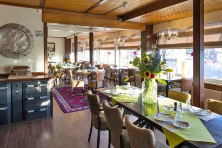 Frühstücksraum im Hotel de Boei in Egmond aan Zee