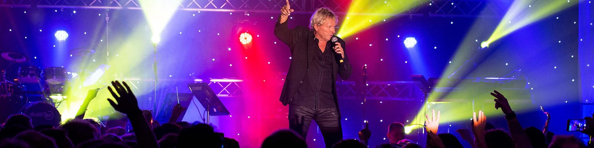 Auftritt von Berhard Brink beim Schlagerfinale in Egmond aan Zee