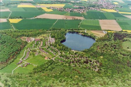 Luftansicht Silbersee in Frielendorf