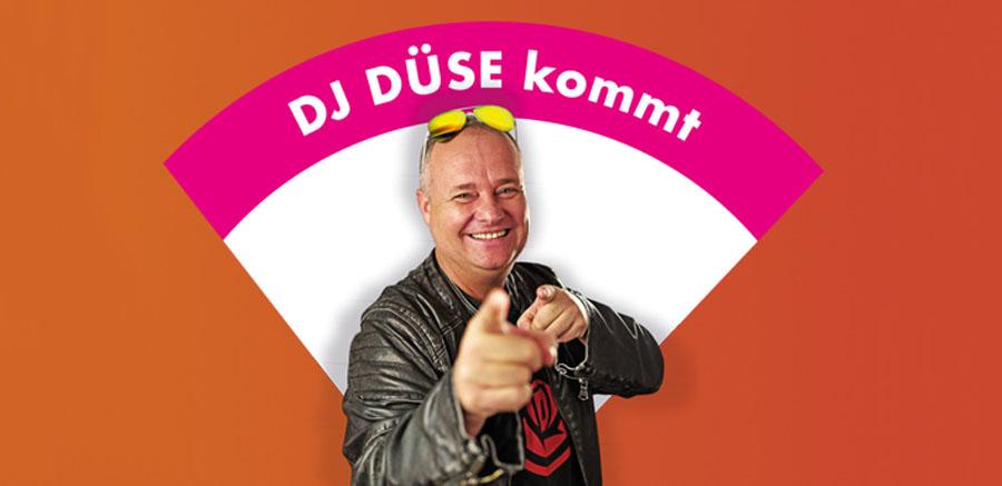 DJ Düse kommt zum Hallorca Closing