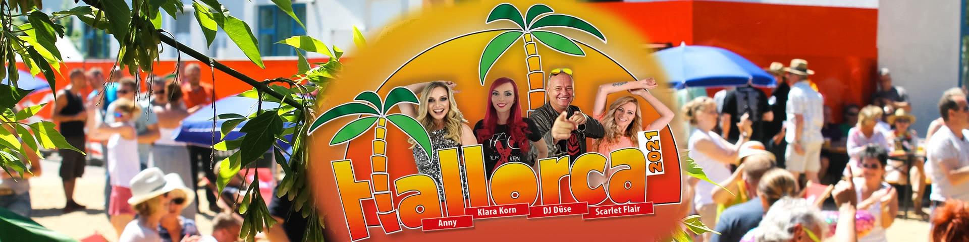 Halorca Beachparty mit Künstlern