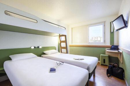 Zimmer im Hotel ibis Budget Hamburg