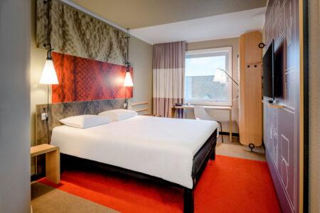 Zimmer im Hotel ibis St. Pauli Messe