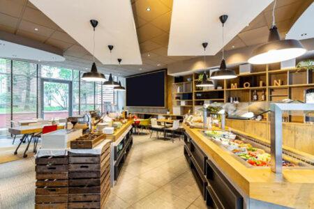 Frühstücksraum in Hotel ibis St. Pauli