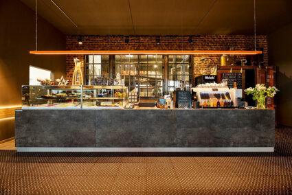 Bar in der Laffeerösterei Joliente im Hasetal