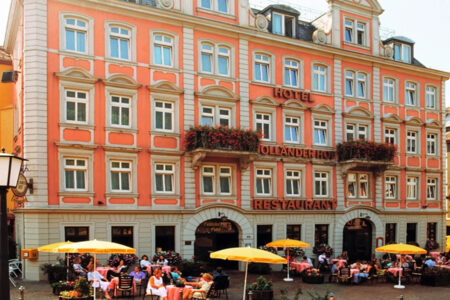 Außenansicht Hotel Holländer Hof in Heidelberg