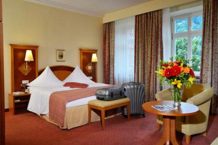 Zimmer im Hotel Holländer Hof in Heidelberg