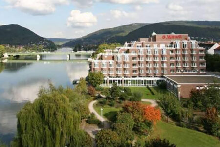 Außenansicht Marriott Hotel Heidelberg