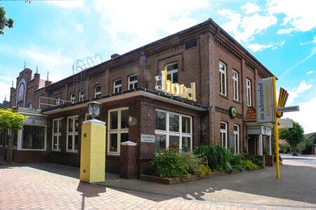 Außenansicht GreenLine Hotel im Schützenhof in Jever