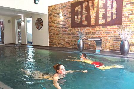 Schwimmbad im GreenLine Hotel im Schützenhof in Jever