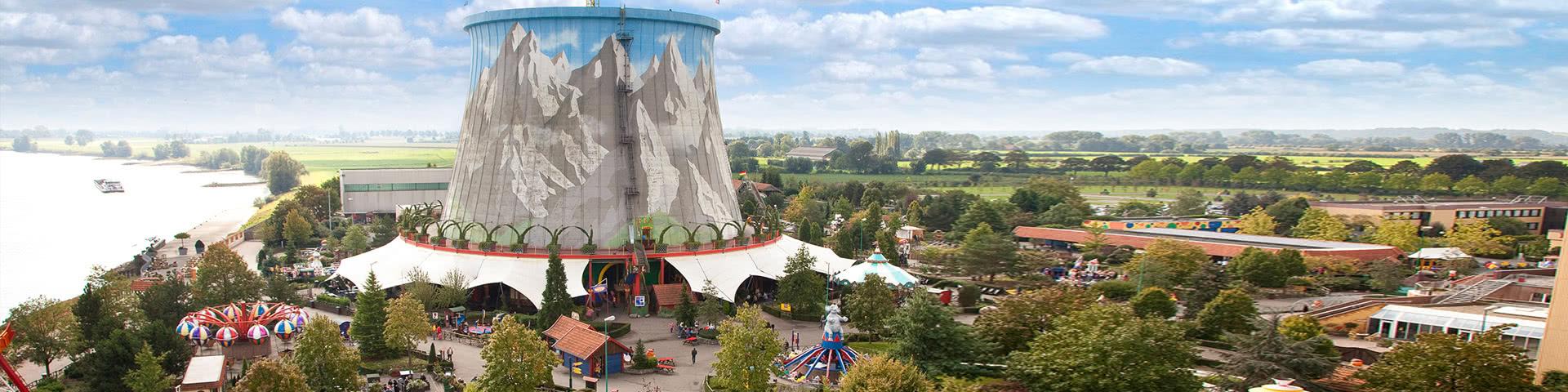 Luftansicht Freizeitpark Wunderland