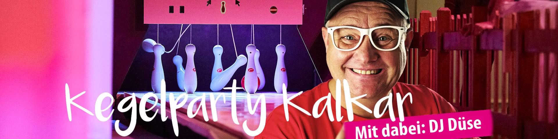 Kegelparty Kalkar mit DJ Düse