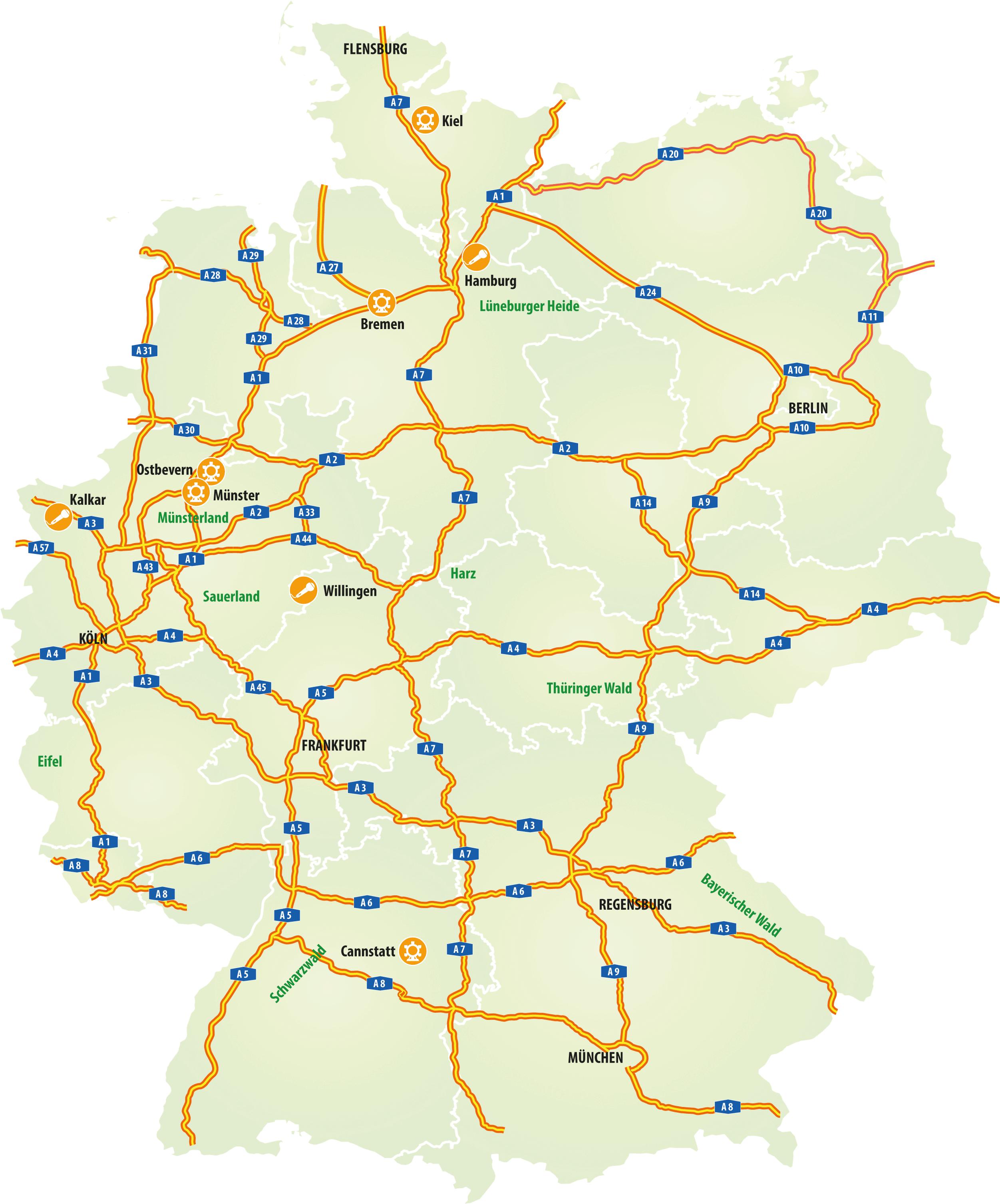 Volksfeste in Deutschland entdecken