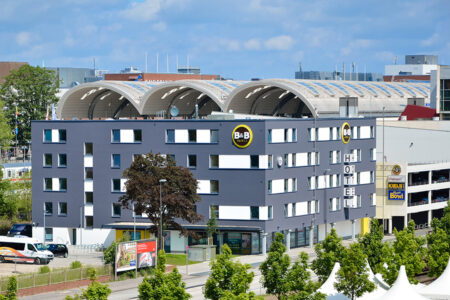 Außenansicht B&B Hotel Kiel City