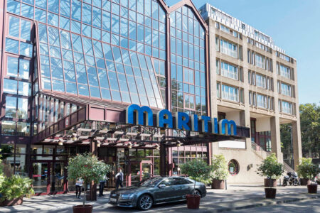 Außenansicht Maritim Hotel Köln