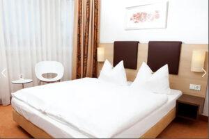 Zimmer im Hotel Flandrischer Hof in Köln