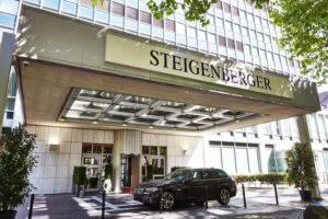 Außenansicht Steigenberger Hotel Köln