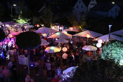 Party am Krombacher Bierbrunnen