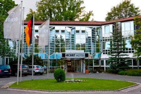 Außenansicht vom Achat Hotel Kulmbach