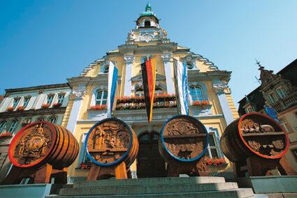 Historisches Gebäude in der Altstadt von Kulmbach