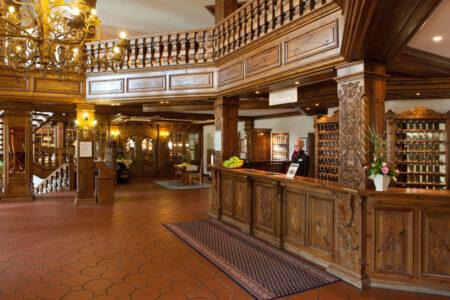 Rezeption im Hotel im Dorf Münsterland