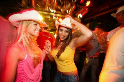 Gute Stimmung in der Disco
