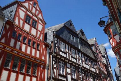 Historische Gebäude in der Altstadt von Limburg