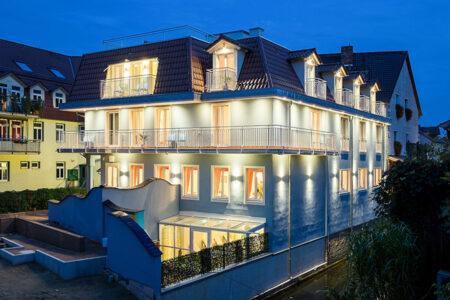 Außenansicht Hotel Spreeblick in Luebben im Spreewald