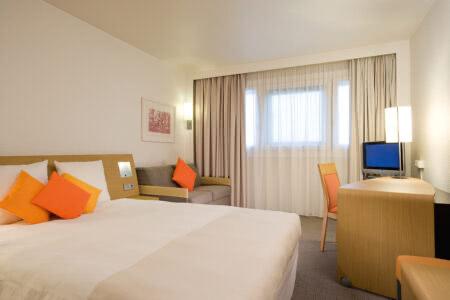 Zimmer im Novotel Maastricht