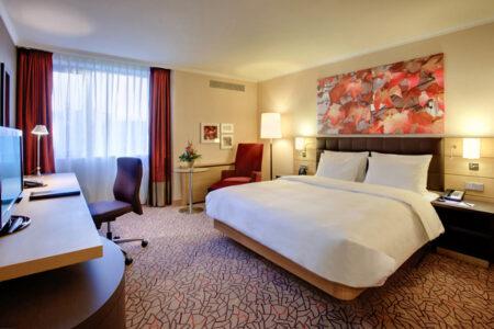 Zimmer im Hilton Hotel Mainz