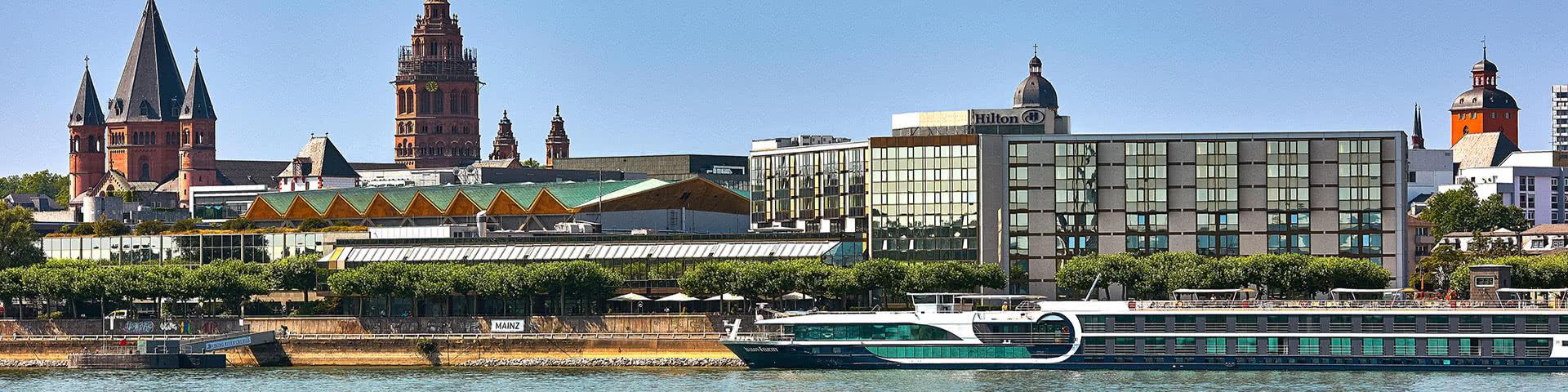 Hilton Hotel am Rhein in Mainz
