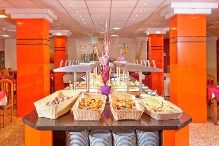 Frühstücksbuffet im Hotel MLL Caribbean Bey auf Mallorca