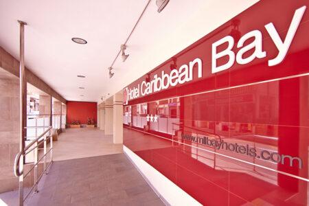 Eingangsbereich vom Hotel MLL Caribbean Bey auf Mallorca