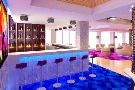 Hotelbar im Hotel MLL Indico Rock auf Mallorca