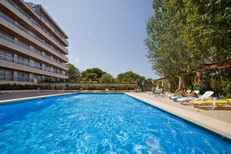 Poolbereich im Hotel Ipanema Beach auf Mallorca